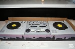 DJ Set cake by Abu's Bakery