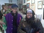 Hip Hop Artist Mos Def visits the bakery